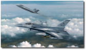 Lightning Strike & Viper Venom by Darrell White Aviation Art