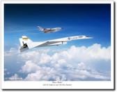 Rare Birds by Mark Karvon - XB-70 Valkyrie & TB-58 Hustler Aviation Art