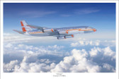 Astrojet by Mark Karvon - Convair 990 Aviation Art