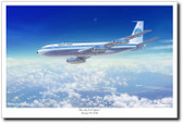Pan AM Jet Clipper by Mark Karvon – Boeing 707 Aviation Art