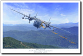 Project Gunship III by Mark Karvon  – AC-119K Aviation Art
