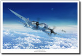 Stratosphere Recon by Mark Karvon – Junkers Ju 388L Aviation Art