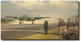 Release Your Brakes and Hunt for Heaven by William S. Phillips - North American B-25 Mitchell Aviation Art