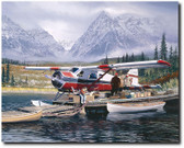 Last Chance by William S. Phllips - de Havilland Beaver Aviation Art