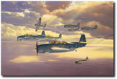 Only One Survived by Craig Kodera Aviation Art
