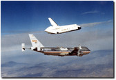 """RELEASED"" Shuttle Enterprise Landing Test Aviation Art"