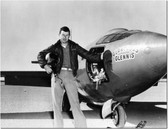 CHUCK YEAGER WITH THE BELL X-1  -Aviation Art