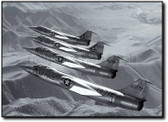F-104 Formation Aviation Art