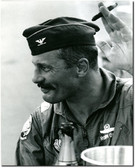 USAF Colonel Robin Olds After a Mission  - Aviation Art