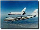 Space Shuttle Enterprise Landing Test - aviation art