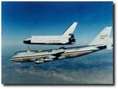 Space Shuttle Enterprise Landing Test - aviation art