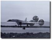 XB-70 Landing With Parachutes Deployed - Aviation Art