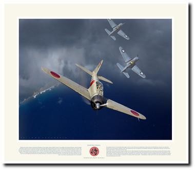 Saburo Sakai- Aviation Art