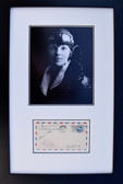 Amelia Earhart with Signed First Day of Issue Envelope -