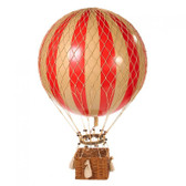 Hot Air Balloon - Jules Verne Balloon, True Red