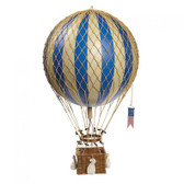 Hot Air Balloon - Royal Aero, Blue