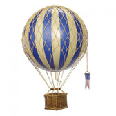 Hot Air Balloon - Travels Light, Blue