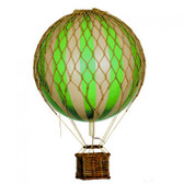 Hot Air Balloon - Floating The Skies, True Green