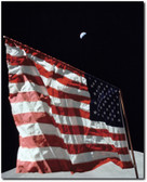 Flag on the Moon