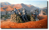 Warriors Fight 2-4 in Afghanistan (A/P) by Larry Selman - Military Art Prints