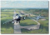 Volk Field F-16s