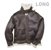 """The General"" B-3 Bomber Jacket Long"
