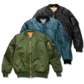 Adult MA-1 Flight Jacket (No Patches - Imported)