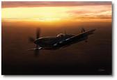 Sunset Spitfire