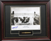 D-Day framed print signed by Herbert Moore