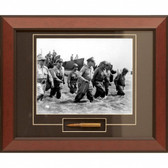 General MacArthur's Triumphant Return framed and matted to include M1 Garand