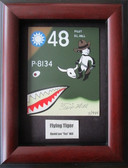 Flying Tigers Nose Art Plate