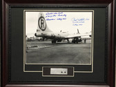 Enola Gay Loading Atom Bomb Signed by Tibbets and VanKirk