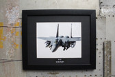 F-15 Strike Eagle Boeing USAF framed photograph