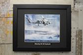 Sikorsky SH-60 Seahawk framed photograph USN