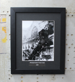 Montparmasse Train Crash 1895 framed photgraph
