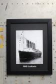 RMS Lusitania framed photograph