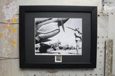 Curtiss P-40 Warlock fighter aircraft framed photograph