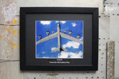 "B-52H Stratofortress ""Peace the old Fashion Way"" framed photograph"