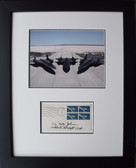 SR-71's with Kelly Johnson signature on First Day Envelope