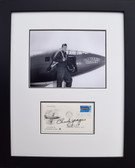 Chuck Yeager with Glamorous Glennis - 50th Anniversary of AF Envelope