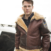 Pearl Harbor B-3 Jacket, Sheepskin