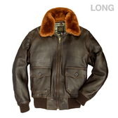 U.S. Navy Lambskin G-1 Flight Jacket (LONG)