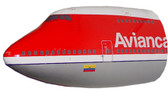 Avianca B-747 Nose, 1:50