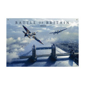 Battle of Britain Vintage Metal Sign