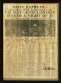 London's Daily Express, May 8, 1945