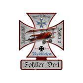 "D.VIII Fokker E.V Lt Richard Wenzl /""Air War 1918/"" Mark Karvon Giclee Print"