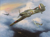 Geoffrey Page Little Willie Hurricane Mk I