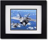 F-22 Raptors in Flight