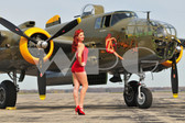 """Kelly"" with the B-25"
