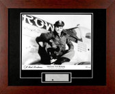 """P-51 """"Old Crow"""" signed by Col. Bud Anderson with P51 metal skin"""